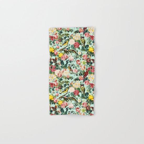 Floral and Birds III Hand & Bath Towel