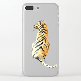 Eye of the Tiger Clear iPhone Case