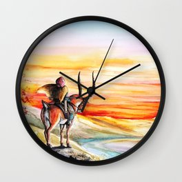 """Sunset"" Wall Clock"