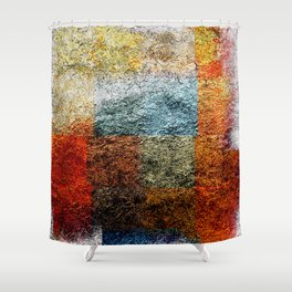 the last wrapping paper Shower Curtain