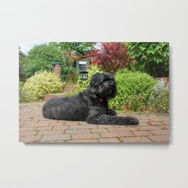 Garden Portrait of Izzy Metal Print