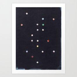 Dark Constellation Art Print