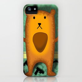 baby wombat fugitive iPhone Case