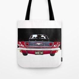 Vintage Mustang Classic Car Tote Bag