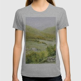 Autumn Fall on a Vermont Town T-shirt