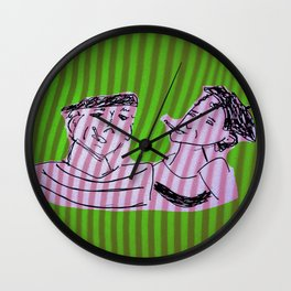 french prison Wall Clock