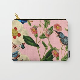 Big Flowers dream pink Carry-All Pouch