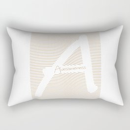 Awesomeness Rectangular Pillow