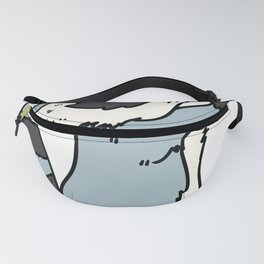 flute transverse flute gift instrument music song sound Fanny Pack