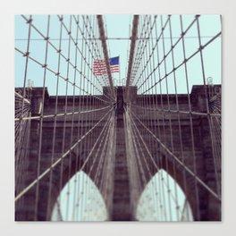 Pont De Brooklyn  Canvas Print