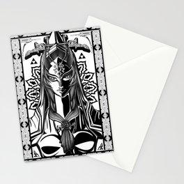 Legend of Zelda Midna the Twilight Princess Line Work Stationery Cards