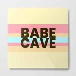 Babe Cave Creamy Spring Metal Print