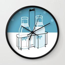 Milk Clock Wall Clock