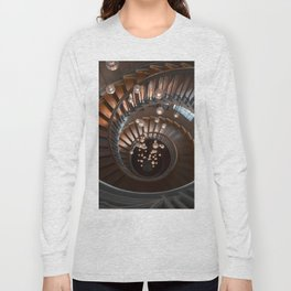 Spiral Stairs in Downtown London Long Sleeve T-shirt