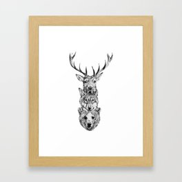 Totem. Framed Art Print