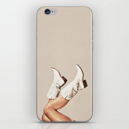 These Boots - Neutral iPhone Skin