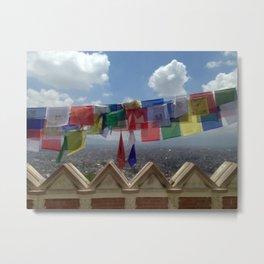 Kathmandu Valley Metal Print