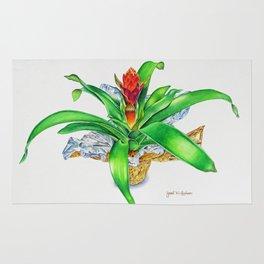Bromeliad Rug