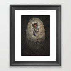 Jurassic Alternate Framed Art Print