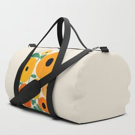 Sunflower and Bee Duffle Bag