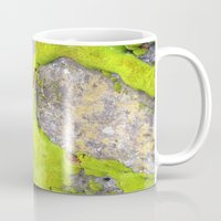 moss Mugs featuring Moss by Post Haste Art