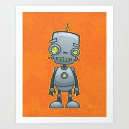 Silly Robot Art Print