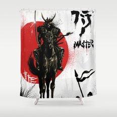 Samurai Master Shower Curtain