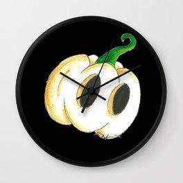 Ghost Lantern Wall Clock