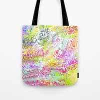 confetti Tote Bags featuring Confetti by Abstract Designs
