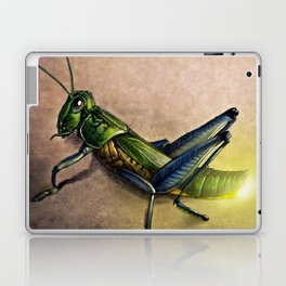 The Firefly and the Grasshopper Laptop & iPad Skin