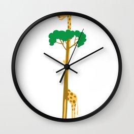 Tree or Giraffe Wall Clock