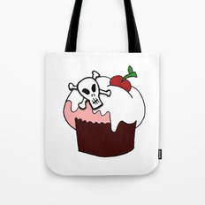 Cupcake with a twist Tote Bag