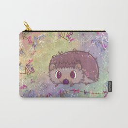 Happiest Little Hedgehog Carry-All Pouch
