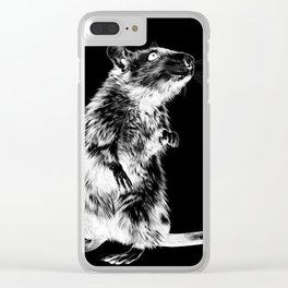 Rat | Spirit animal | Year of the rat | Wicca | Rat lovers | Rat Club Clear iPhone Case