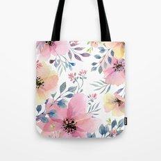 flower watercolor 1 Tote Bag