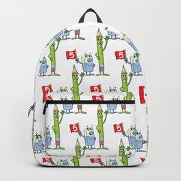Eraser and pencil Backpack
