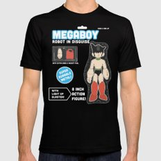 Megaboy: Robot in Disguise Mens Fitted Tee Black MEDIUM