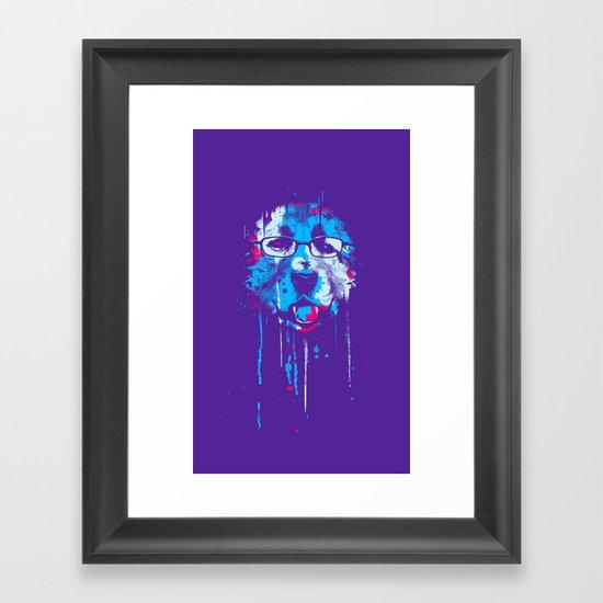 D.O.G Framed Art Print