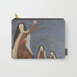 St. Teresa Shakes Her Fist At God Carry-All Pouch