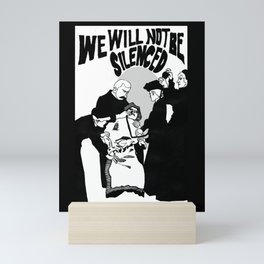 We Will Not Be Silenced VI Mini Art Print