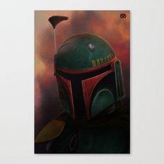 Boba Fett Canvas Print