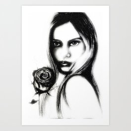 Eleanor Rose  Art Print