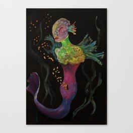 Birth of Mermaids Canvas Print