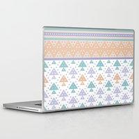 pee wee Laptop & iPad Skins featuring Tee-Pee by According to Panda