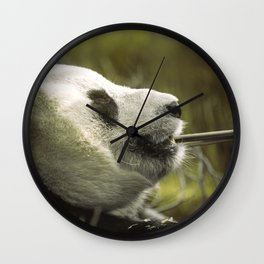 Relaxed Sunshine Wall Clock