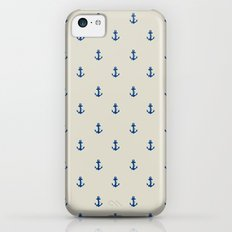 Anchor Pattern Slim Case iPhone 5c