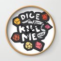 Dice Don't Kill Me Now - Sunset by kayesdoodles