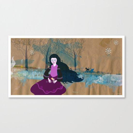 wintergirl Canvas Print