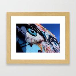 Gaze -2 Framed Art Print