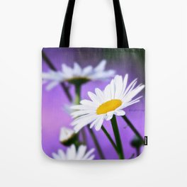 Exit 17 daisy * purple is the color of love Tote Bag